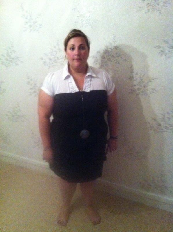 Après une brocante de mes ancien vêtements... Voici ma nouvelle robe
