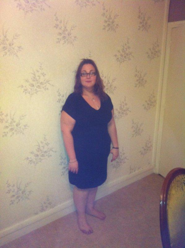 Ma robe de grossesse moin 12 tailles ;)