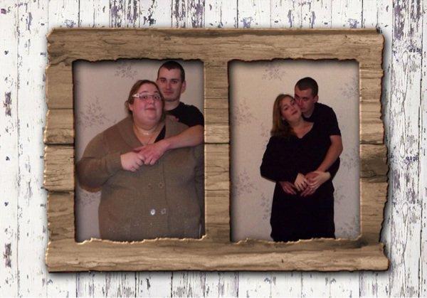 Petite photo pour voir la différence! 88 kilo en moins et enceinte de 7 mois