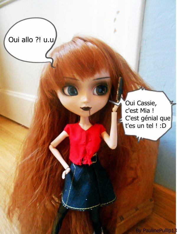 Photo Story : Un téléphone pour Cassie #Partie 4 ♥