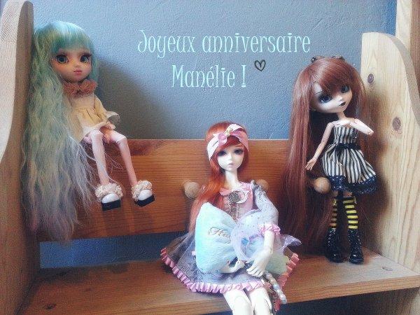 Tanjôbi omedetô Manélie ! ♥