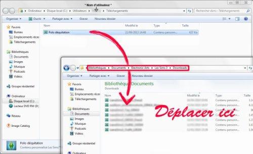 • Comment installer un fichier Sims3pack •