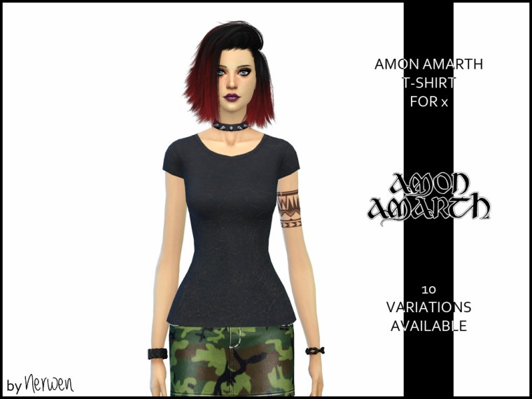 • T-shirt Amon Amarth •