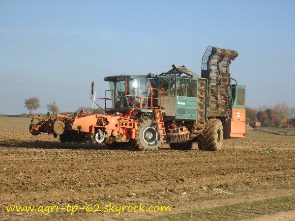 Arrachage des betteraves 2011 dans l'Aisne (02)