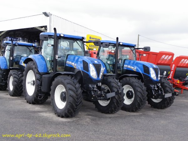 Dans une concession new holland 2011