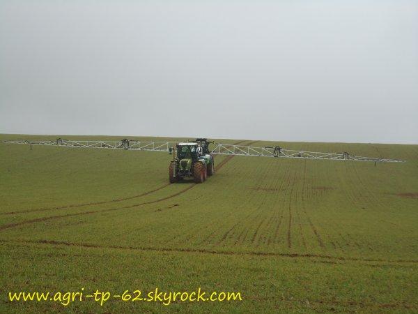 Traitement des blés 2012 dans l'Aisne (02)