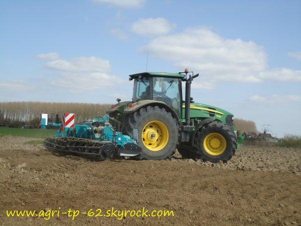 Préparation des terres 2012