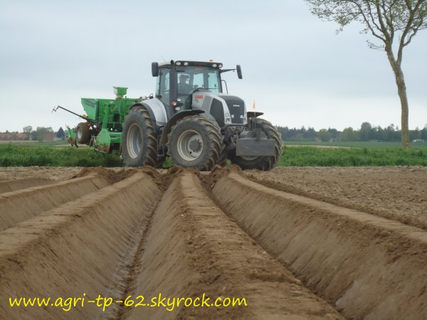 Plantation de pommes de terre 2012