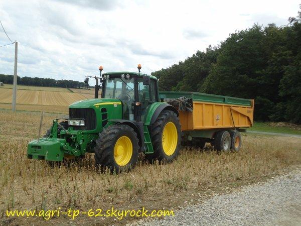 Moisson de colza 2012 dans l'Indre (36)