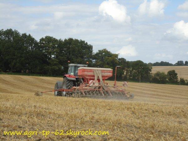 Semis de millet 2012 dans l'Indre (36)