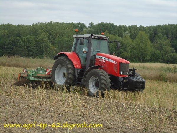 Déchaumage 2012 dans l'Indre (36)