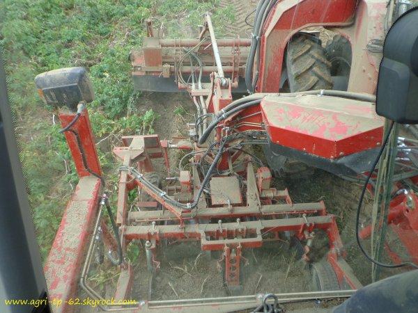 Arrachage de pommes de terre 2012