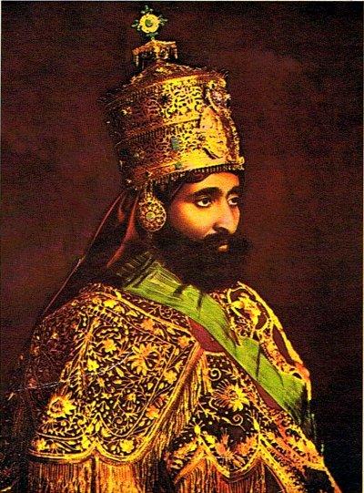 Sa Majesté Impériale Halie Selassie I, Roi des Rois, Seigneur des Seigneurs, Lion Conquerant de la tribu de Judah, élu de Dieu...