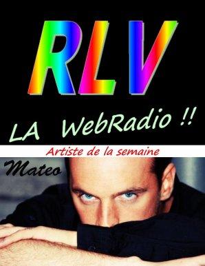 Mate - artiste de la semaine sur RLV la Webradio