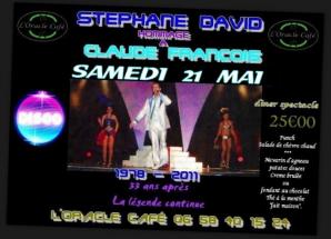 Stéphane David rend hommage à Claude François