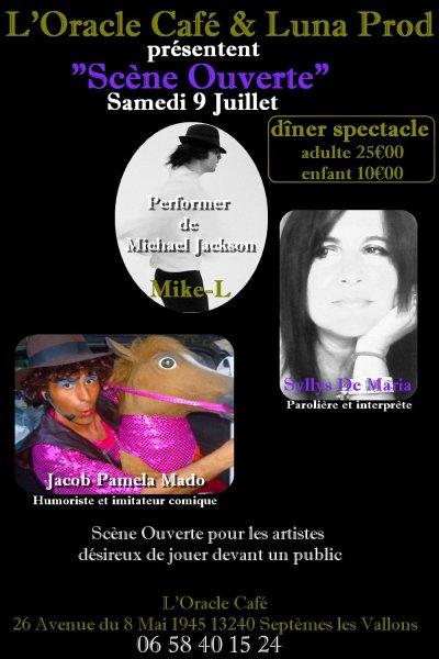"""Soirée """"Scène Ouverte""""  - 9 juillet 2011"""