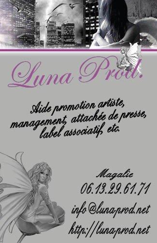 Vous pouvez dorénavant nous retrouver sur http://luna-prod.net/