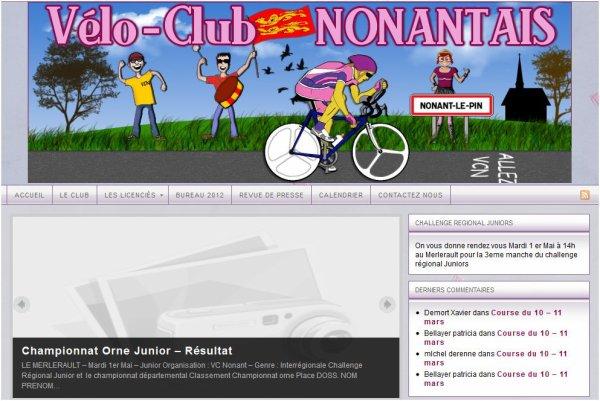 Nouveau Site internet du VCN
