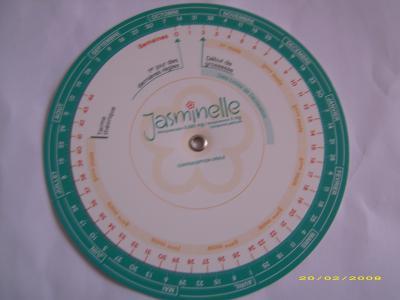 Roulette de calcul grossesse