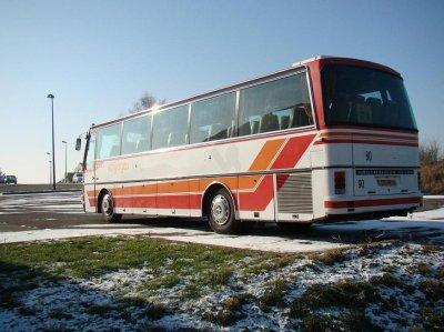 Nous sommes en février 2009 et je viens de reçevoir un autocar SETRA 212H.