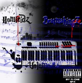 Homicidz-BeatmakingZ #2 / HOMICIDZ-Hustlerz-instru-BeatmakingZ #2 (2012)