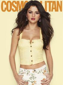 Selena Gomez : Sexy en couverture de Cosmo