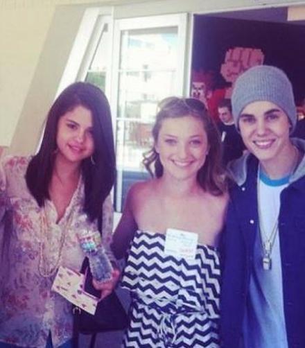 Selena Gomez avec Justin Bieber a L.A!