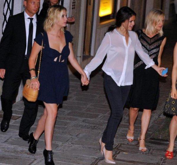 Selena Gomez: Glamour dans les rues de Venise! :)