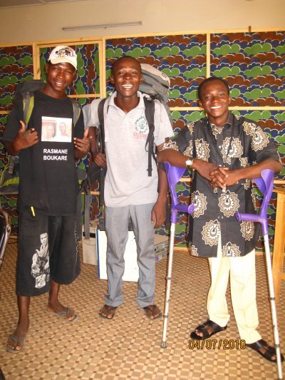 Un photo prise avec mes amis au Cybercafé