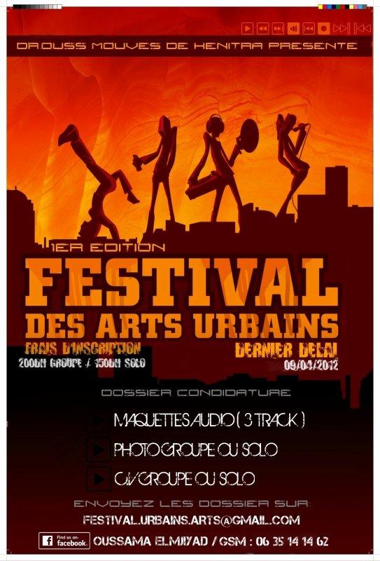 1er Edition Du Festival Des Arts Urbains 2012 A Kenitra