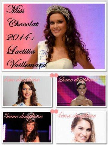 Élection de Miss Chocolat 2014