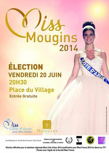 Bientôt l'élection de Miss Mougins 2014 !