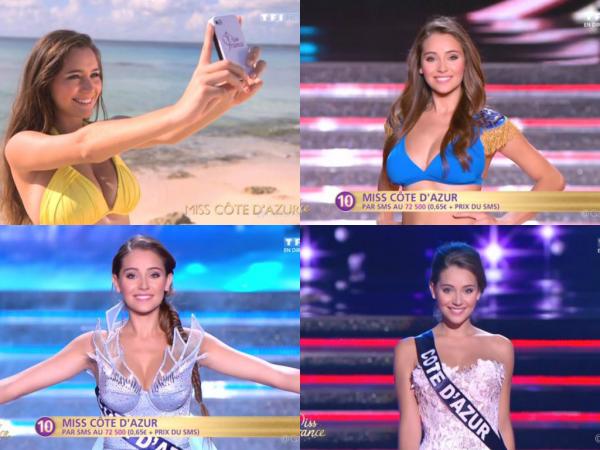Charlotte et Anne-Laure à l'élection de Miss France 2015 !