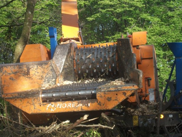broyage de bois