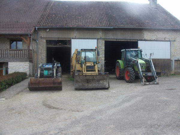nos 3 tracteurs