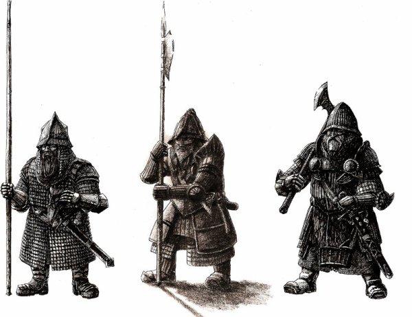 La Guerre des Orques et des Nains.