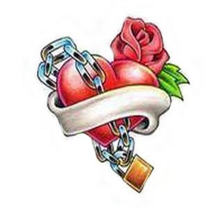 Tatouage coeur blog de tic tac tatoo - Dessin de coeur brise ...