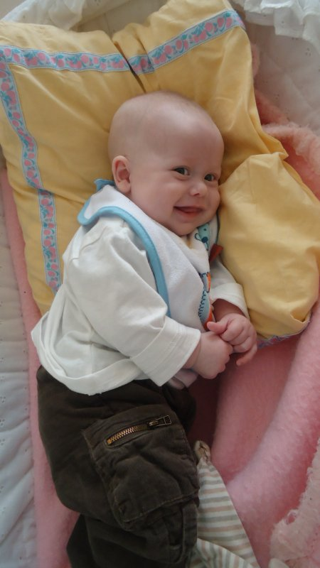 mon ange a 3 mois !