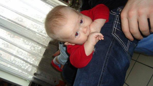 mon fils a 4 mois & demi