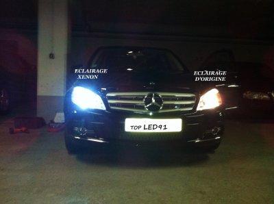 Ampoule H Mercedes Classe A