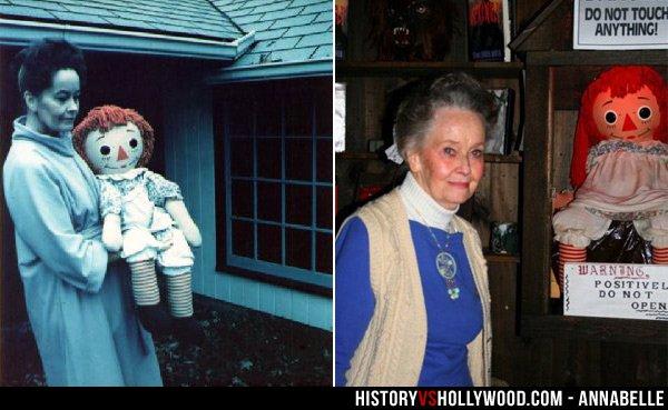 Annabelle, la réalité qui dépasse la fiction