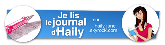 Le journal d'Haily (j'adore ce livre!!!)