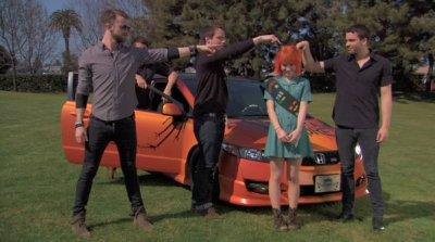 Vidéo interview pour le Honda Civic Tour