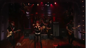Live @ Jimmy Fallon + Misery Business + Chat + b.o.b