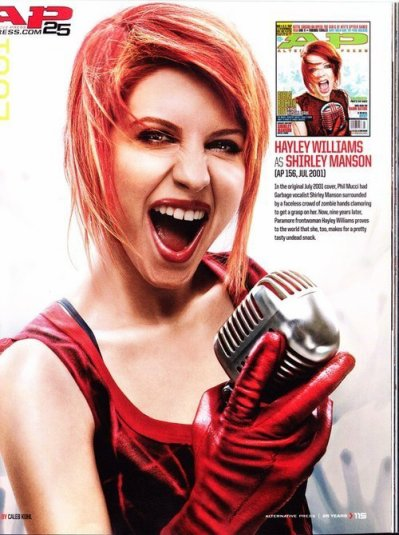 Hayley pour Alternative Press
