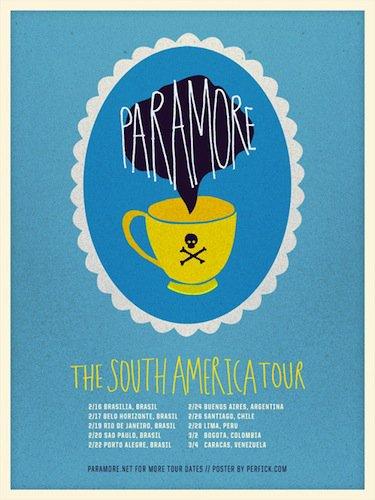 Premier concert de la tournée Sud Américaine.