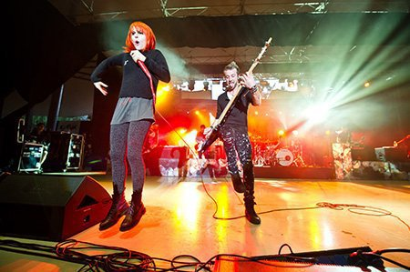 Paramore en Pologne part.2