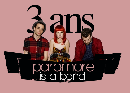 3 ans.