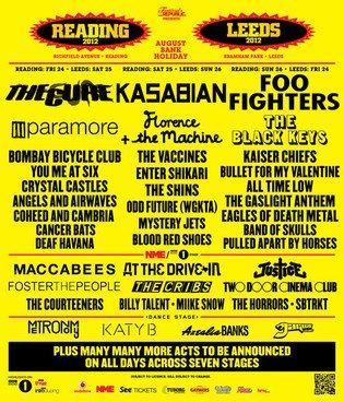 Reading Leeds Festival 2012