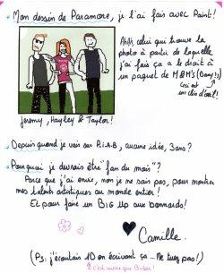 Fan du mois #2: Camille
